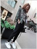 全館83折春秋薄款運動褲子女2019新款學生寬鬆韓版ins束腳顯瘦休閒哈倫褲