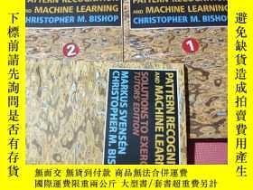 二手書博民逛書店Pattern罕見Recognition and Machine Learning 上下 帶答案Y408729