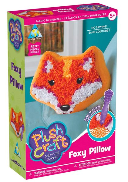 書立得-《The Orb Factory魔力球工廠》可愛狐狸抱枕 Foxy Pillow