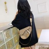 包包女包新款韓版百搭寬肩帶單肩包時尚馬鞍包網紅同款斜背包ATF 艾瑞斯生活居家