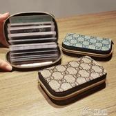 超薄風琴小巧卡包女式證件位卡袋卡片包卡套大容量零錢包男士卡夾 好樂匯