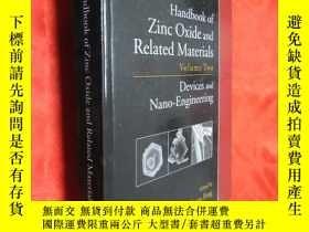 二手書博民逛書店Handbook罕見of Zinc Oxide and Rela