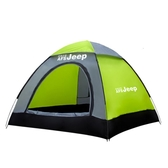 帳篷戶外3-4人全自動二室一廳家庭帳篷防雨速開2單人雙人野外露營 英雄聯盟MBS