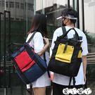 電腦包     韓版原宿ulzzang港風學生女帆布背包後背包書包電腦包大容量旅行 新品