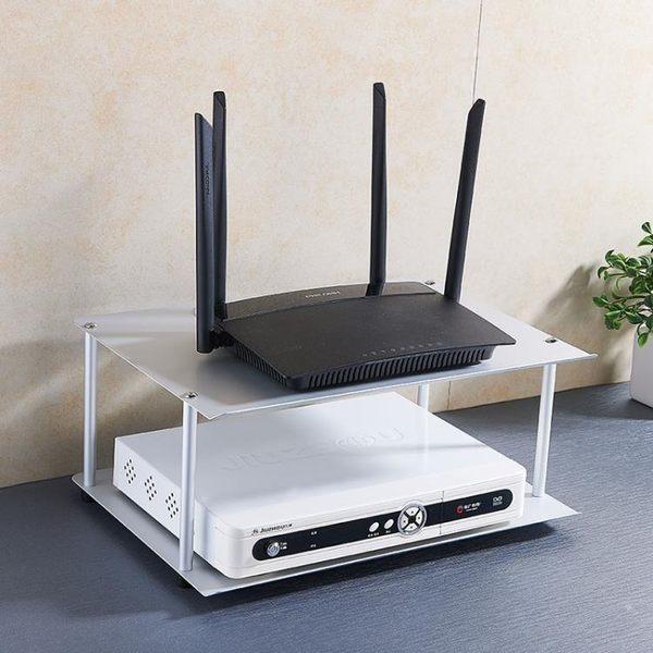電視機頂盒支架路由器置物架收納架