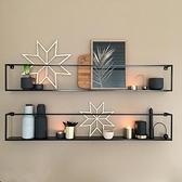 壁櫃 墻上置物架免打孔臥室房間客廳沙發餐廳電視背景墻面壁掛裝飾架