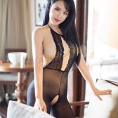 睡衣 慾望愛情蕾絲裸背性感貓裝【全館86折】