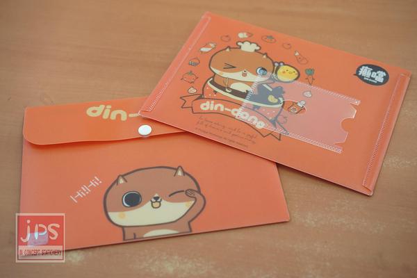 Din Dong 癫噹 B6資料袋 (橘)