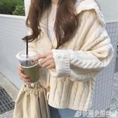 秋季年新款溫柔風長袖針織衫女春秋百搭開衫上衣外搭毛衣外套 雙十一爆款清出