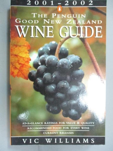 【書寶二手書T8/餐飲_HAD】The Penguin Good New Zealand Wine Guide 2001