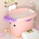兒童洗澡桶折疊沐浴桶嬰兒幼兒游泳寶寶泡澡小孩家用可坐大號浴盆 qf33256【MG大尺碼】