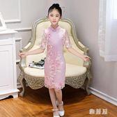 女童旗袍新款夏秋冬季風兒童小女孩寶寶公主裙古箏演出服 LN531 【雅居屋】
