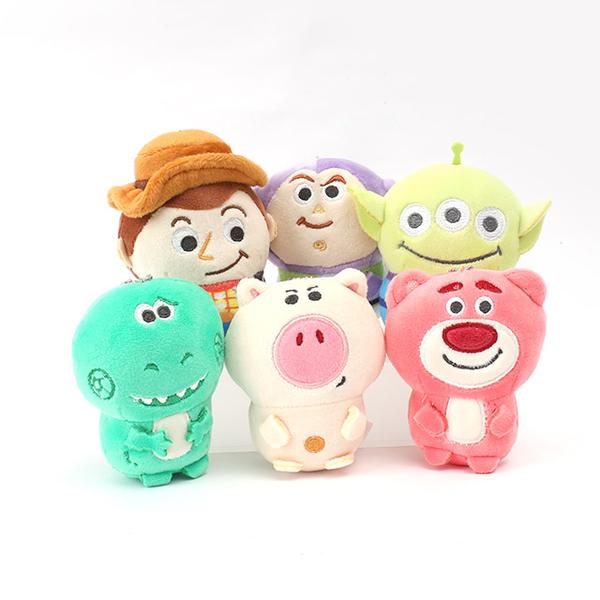 迪士尼軟QQ系列3吋小吊飾- Norns 正版授權 玩具總動員 小熊維尼 史迪奇 怪獸大學