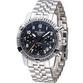 梭曼 Revue Thommen 指揮官系列計時機械腕錶 16055.6137