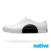 native JEFFERSON BLOCK 奶油頭休閒鞋 - 黑半圓 8868