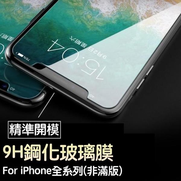 $1元【高透光螢幕玻璃貼】防水防塵玻璃貼 iPhone5S、iPhone6S Plus、iPhone7 Plus、iPhone8 Plus 螢幕保護貼