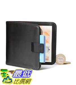 [107美國直購] 錢包 Distil Union - Wally Euro, Slim Leather Wallet with Coin Pouch and Money Clip