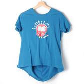 【Dailo】小鳥造型T恤-藍 10601
