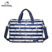 Hello Kitty - 摺疊旅行袋-深藍 FPKT0B001NY