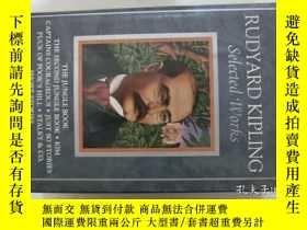 二手書博民逛書店RUDYARD罕見KIPLING Selected Works(