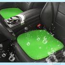 汽車坐墊涼墊透氣蜂窩凝膠可愛硅膠制冷單片座墊【時尚大衣櫥】