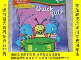 二手書博民逛書店Quick罕見quiz(Words and Pictures F