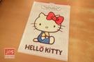 Hello Kitty 凱蒂貓 A4雙用文件夾 L夾 U夾 白 966337