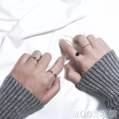 戒指 日韓簡約關節戒指組合潮人飾品開口尾戒指環對戒女復古配飾J020 京都3C