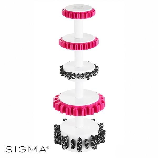 Sigma 臉部+眼部雙套組刷具晾乾收納架 Dry'N Shape Towe Full Set - WBK SHOP