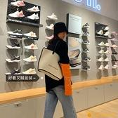 帆布包大容量女包托特包女時尚手提單肩帆布包【小橘子】