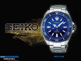 【時間道】SEIKO PROSPEX SCUBA機械潛水腕錶/藍面鋼帶(4R35-01X0B/SRPC93J1)免運費