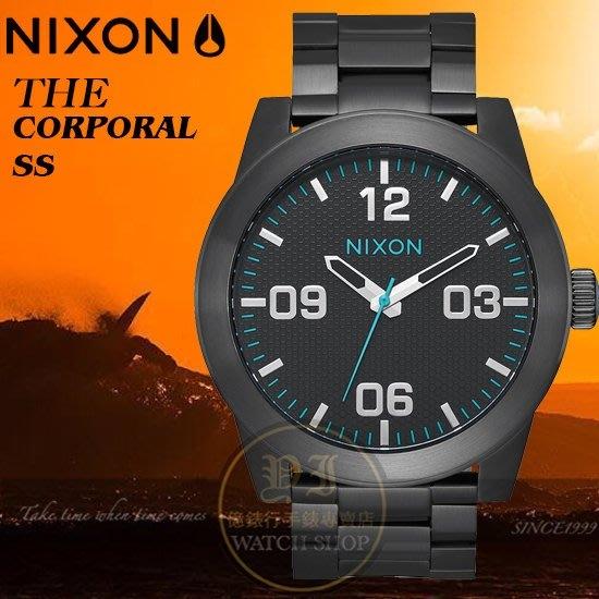 NIXON 實體店The Corporal 型男腕錶A346-602公司貨/潮流/大錶徑/極限運動/禮物