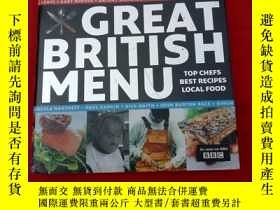 二手書博民逛書店GREAT罕見BRITISH MENUY179070 GREAT BRITISH MENU GREAT BRI