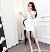 時尚職業洋裝女裝夏季顯瘦氣質女神范衣服夜場性感緊身包臀裙子