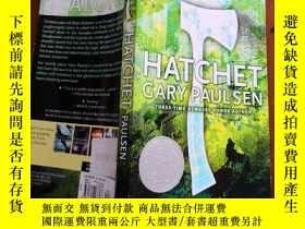 二手書博民逛書店罕見Hatchet(加里·保爾森紐伯瑞獲獎作品《手斧男孩》英文原