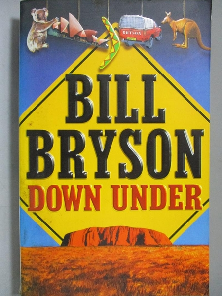 【書寶二手書T2/原文小說_NQW】Down Under_Bill Bryson