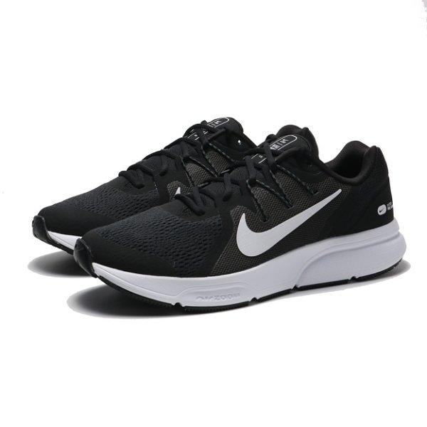 【折後2480】NIKE ZOOM SPAN 3 男生 黑白色 舒適 透氣 輕量 氣墊 緩震 運動 慢跑鞋 CQ9269-001