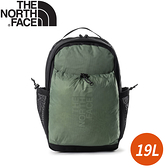 【The North Face 19L 便捷舒適休閒後背包《綠/黑》】52TB/電腦包/雙肩背包/通勤背包/休閒背包