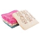 【3件$59】兔子小方巾30x30cm ...