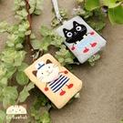 悠遊卡套~Le Baobab日系貓咪包 啵啵貓好朋友證件套/零錢包/拼布包包