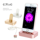 COTEetCI Apple iPhone Lightning 8pin 充電座 鋁合金 支架 底座 充電器