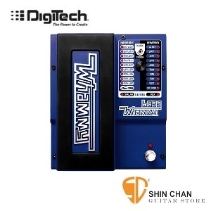 【缺貨】DigiTech Bass Whammy 音程效果器【Legendary pitch shifting effect for bass guitar】
