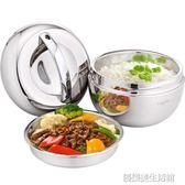 保溫飯盒不銹鋼便當盒學生泡面碗帶蓋成人1人2層飯缸韓國雙層餐盒
