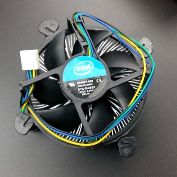 cpu散熱器風扇Intel英特爾銅芯超靜音臺式機電腦CPU風扇散熱器zg【全館八五折最後三天】