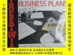 二手書博民逛書店Streetwise罕見Business Plans: Crea