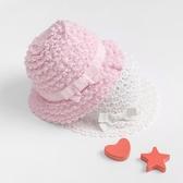 夏季女寶寶帽子兒童防曬遮陽帽嬰兒純棉