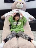 兒童衣服 女童牛油果綠衛衣秋裝新款韓版兒童中大童學生寬鬆洋氣棉上衣