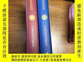 二手書博民逛書店Aumann罕見Collected Papers 1-2Y171