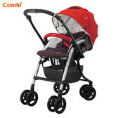 康貝 Combi Diaclasse FE 500 雙向嬰兒手推車-珊瑚紅 ★送 尊爵保卡