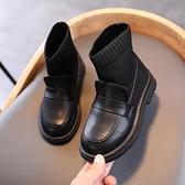 兒童靴子 女童靴子2021年新款冬季兒童馬丁靴襪子靴小女孩加絨棉鞋公主短靴 嬡孕哺